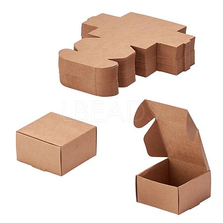 Kraft Paper BoxCON-WH0036-01-1