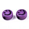 Opaque Craft Acrylic BeadsMACR-S369-003B-02-3