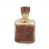 Natural Citrine Openable Perfume Bottle PendantsG-E556-18B-2