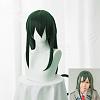 Long Green Straight Anime Cosplay Synthetic WigsOHAR-I015-18-1