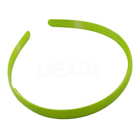 Plain Plastic Hair Band FindingsX-PJH103Y-7-1