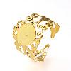 Adjustable Brass Ring ShanksX-KK-R037-260G-1