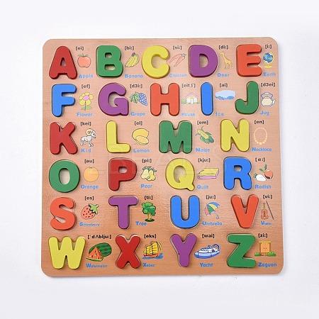 Wooden Children DIY Building BlocksX-DIY-L018-21-1