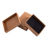 Kraft Cotton Filled Cardboard Paper Jewelry Set BoxesCBOX-R036-11A-2