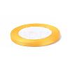 1/4 inch(6mm) Goldenrod Satin RibbonX-RC6mmY016-2