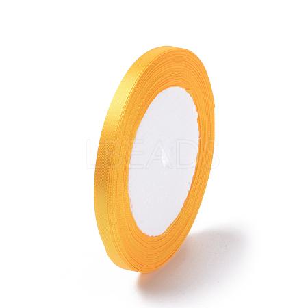 1/4 inch(6mm) Goldenrod Satin RibbonX-RC6mmY016-1