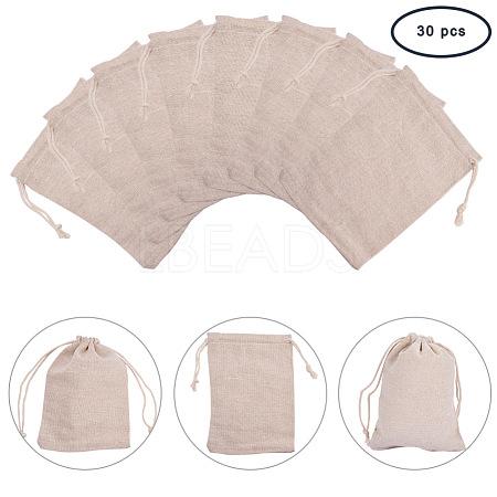 PandaHall Elite Cotton Packing Pouches Drawstring BagsABAG-PH0002-17-1