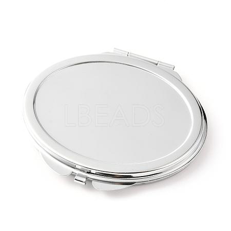 DIY Stainless Iron Cosmetic MirrorsDIY-L056-04P-1