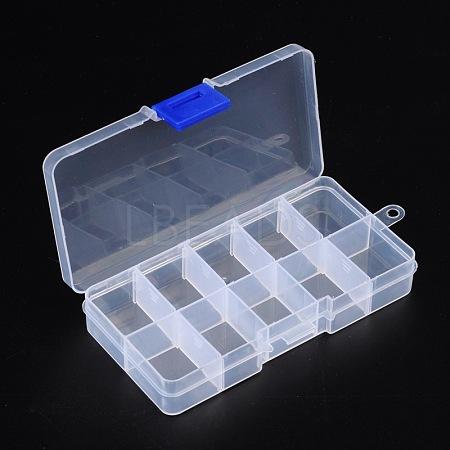 Plastic Clear Beads Display Storage Case BoxX-C006Y-1