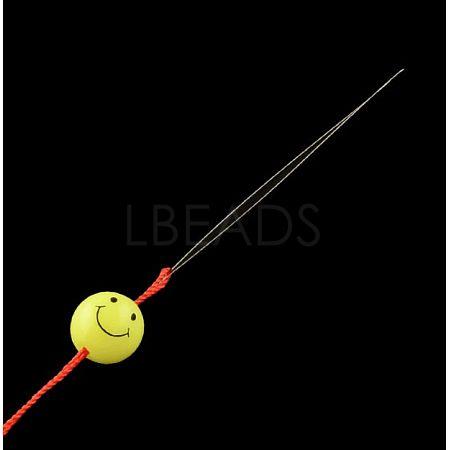 Iron Big Eye Beading NeedlesTOOL-R095-01-1