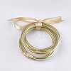 PVC Plastic Bangle SetsBJEW-T008-09M-1