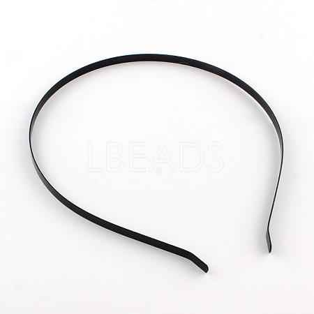 Electrophoresis Hair Accessories Iron Hair Band FindingsX-OHAR-Q042-008D-02-1