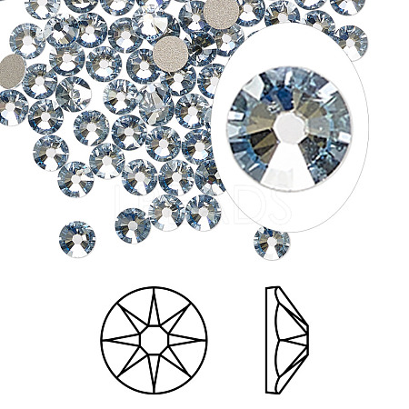 Austrian Crystal RhinestoneX-2088-SS20-001BLSH(F)-1