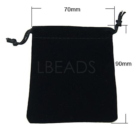 Velvet Jewelry BagsX-TP-A001-7x9cm-2-1