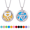 SUNNYCLUE 304 Stainless Steel Pendant Necklaces NJEW-SC0001-01P-1