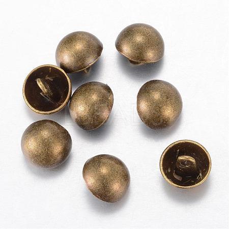 Alloy Shank ButtonsBUTT-D054-23mm-06AB-1