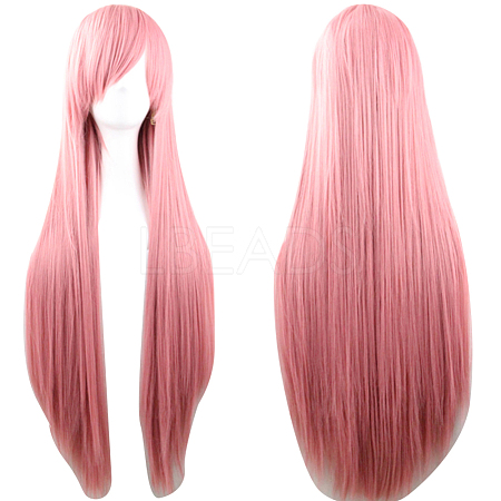 31.5inches(80cm) Long Straight Cosplay Party WigsOHAR-I015-11F-1