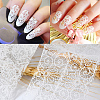 Lace Nail Art Stickers Decals MRMJ-G002-14-3