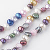 Natural Cultured Freshwater Pearl Beads StrandsPEAR-Q007-12-1