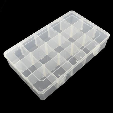 Rectangle Plastic Bead Storage ContainersCON-Q024-17-1