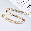 Brass Cable Chains Necklace MakingMAK-N034-004B-G-4
