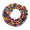 Opaque Glass Beads StrandsX-GLAA-T006-12A-2