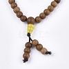 4-Loop Wrap Style Buddhist JewelryBJEW-T009-07-2