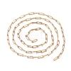 Soldered Brass Paperclip ChainsCHC-G005-03G-4