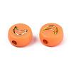 Opaque Mixed Color Acrylic BeadsX-MACR-T038-10-G-2