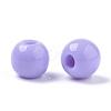 Opaque Acrylic BeadsSACR-N009-16-3