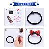 Acrylic Base for Hair Tie MakingX-SACR-S303-004-3
