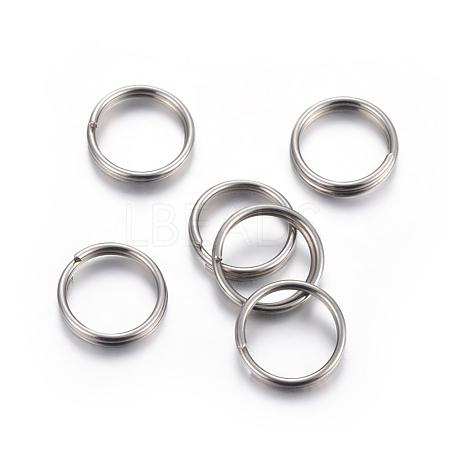 304 Stainless Steel Split RingsX-STAS-P223-22P-06-1