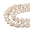 Grade B Natural Cultured Freshwater Pearl Beads StrandsX-PEAR-L001-G-14-3