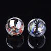 Handmade Blown Glass Globe BeadsX-DH017J-1-12mm-AB-2