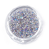 Plated Glass Seed BeadsX-SEED-S016-02-2