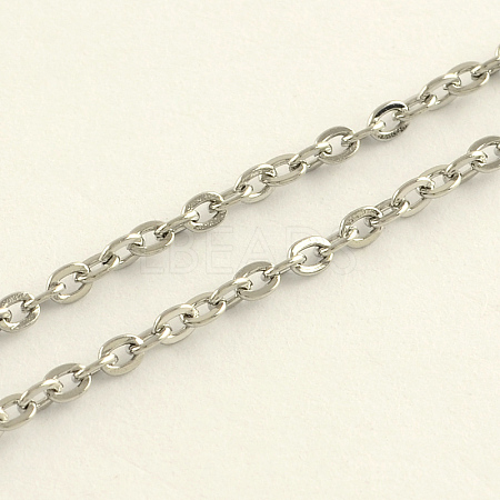 304 Stainless Steel Cable ChainsCHS-R008-10-1