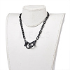 Personalized ABS Plastic Cable Chain NecklacesX-NJEW-JN02849-01-4