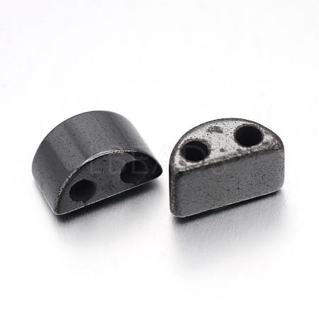 Magnetic Synthetic Hematite Beads StrandsIM13x6mm1161-1