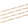 Brass Link ChainsCHC-T007-01G-6
