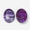 Natural Striped Agate/Banded Agate CabochonsX-G-R415-13x18-11-2