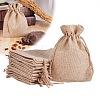 PandaHall Elite Burlap Packing Pouches Drawstring BagsABAG-PH0001-14x10cm-05-5