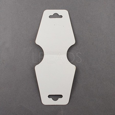 White Necklace Jewellery Displays CardsX-NDIS-ZX002-1
