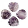 Natural Amethyst Thumb Worry StoneG-N0325-01P-1