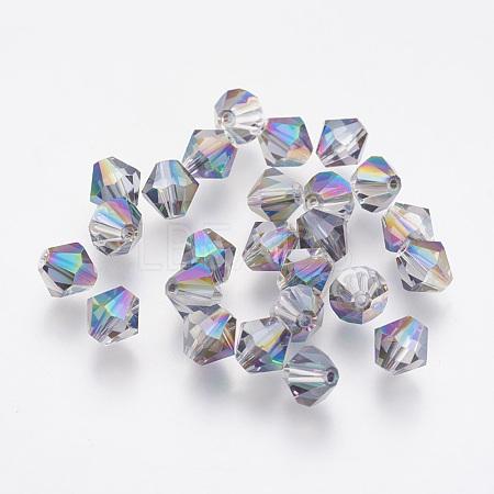 Imitation Austrian Crystal BeadsSWAR-F058-6mm-31-1
