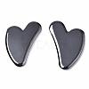 Heart Shape Magnetic Synthetic Hematite Gua ShaG-S336-57-A01-1