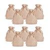 PandaHall Elite Burlap Packing Pouches Drawstring BagsABAG-PH0001-14x10cm-05-2